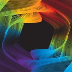 Wavy Spectrum Pattern
