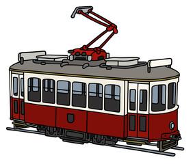 Vintage electric tramway