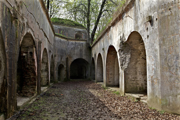 Tuinposter Rudnes fortress Przemysl. Fort I