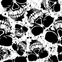 skull background