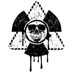 triangular skull radiation