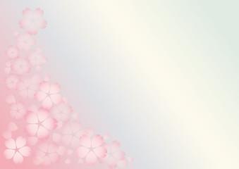 春色の背景