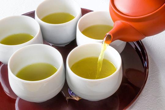 緑茶セット Japanese green tea set