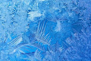 青い窓の結晶