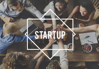 Start Up Aspiration Business Enterprise Launch Concept