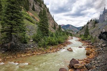 River Between Durango and Silverton