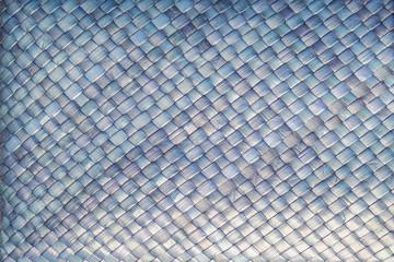 Rattan weave texture background