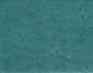 Dark cyan color leather texture.