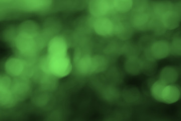 dark green abstract bokeh background, for graphic background.