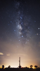 The Milky Way is our galaxy. This long exposure astronomical