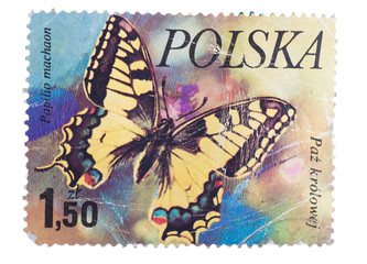POLAND - CIRCA 1980: A Stamp printed in  shows image of