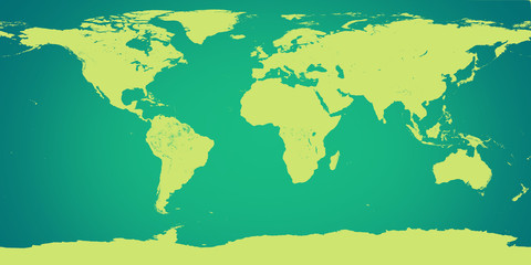 world map green. Elements of this image furnished by NASA.