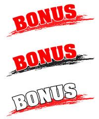Bonus, Angebot, Button, Wischer