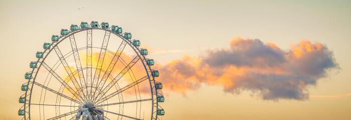 The Ferris Wheel of Malaga