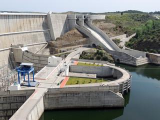 Dam in Portugal: Alqueva