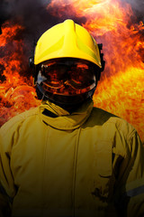 fire, fire man splashing  Fire Extinguisher
