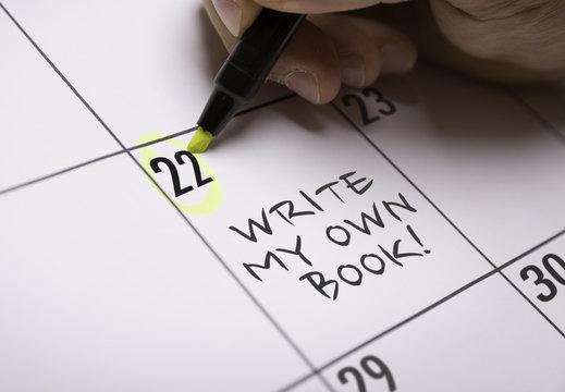 Write My Own Book