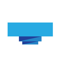 blue ribbon banner on white background.  blue ribbon banner sign