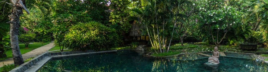 pool in hotel indonesien urlaub panorama