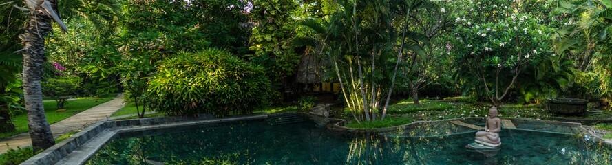 pool in hotel indonesien urlaub panorama