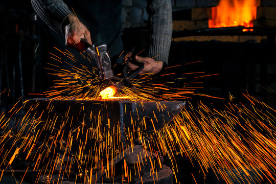 Blacksmith Sparks Images, Stock Photos & Vectors   Shutterstock