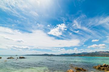 rocky shore in Puntaldia