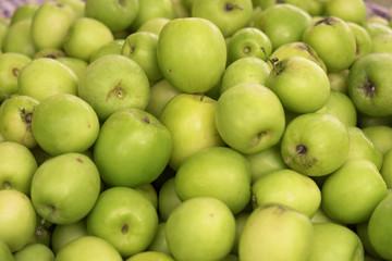 Monkey apple / Heap of monkey apple in the market.