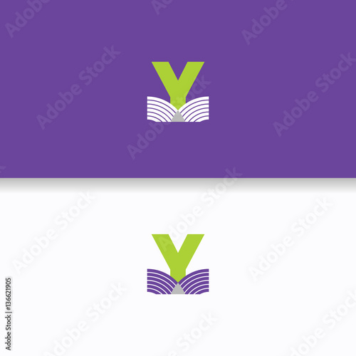 Letter y logo brand book concept corporate business letter y logo brand book concept corporate business education sciox Image collections