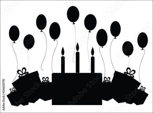Birthday Candle Silhouette | www.pixshark.com - Images ...