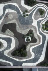 Jardin créé par Roberto Burle Marx / Sao Paulo