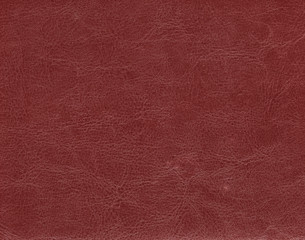 Dark red leather texture.