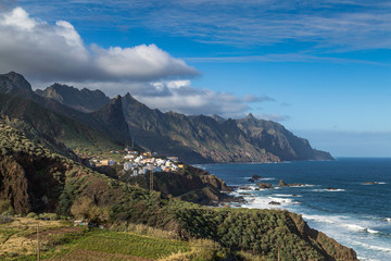 Coastline of Anaga, Tenerife