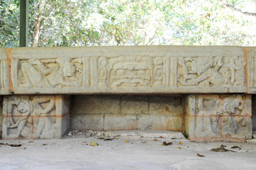 The Mayan ruins of Las Sepulturas near Copan