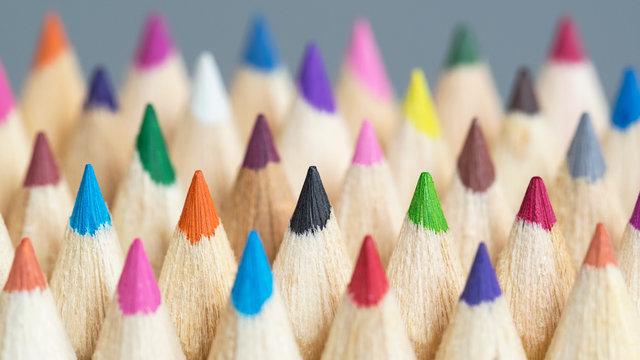 Leuchtende Farben - Farbtöne - Design