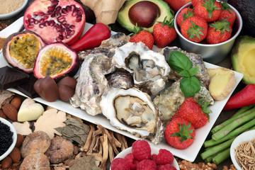 Aphrodisiac Food  for Sexual Health