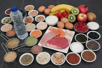 Body Building Health Food Collection