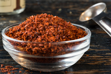 Aleppo Pepper in an ingredient bowl