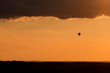 Balloon, sky, Czech republic