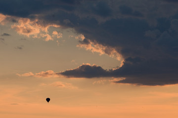 Balloon, sky, Czech republic