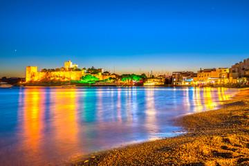 Budapest at sunset, Hungary
