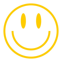 Yellow Smiley Icon Smiling Face