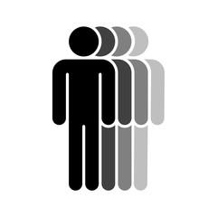 Four Human Sign People Symbol