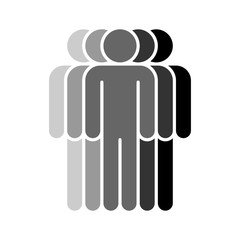 Five Human Sign People Symbol