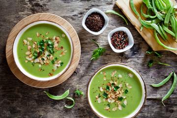 Homemade Pea And Leek Soup