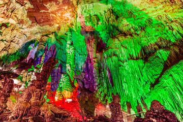 Furong Cave in Wulong Karst National Geology Park, China