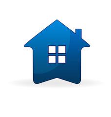 House arrow shape logo