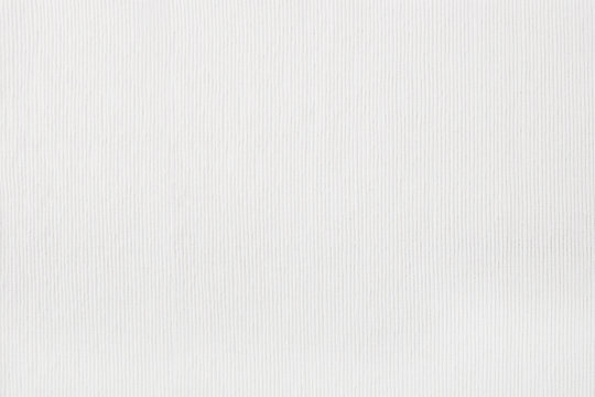 White velvet material background. Striped texture top view.
