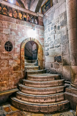Holy Sepulchre Church stairs