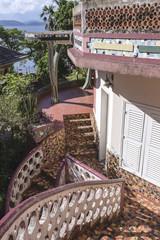 Brazil, State of Rio de Janeiro, Paqueta Island, Casa das Artes architecture