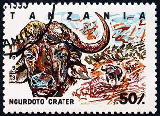 Postage stamp Tanzania 1993 Ngurdoto crater, national park